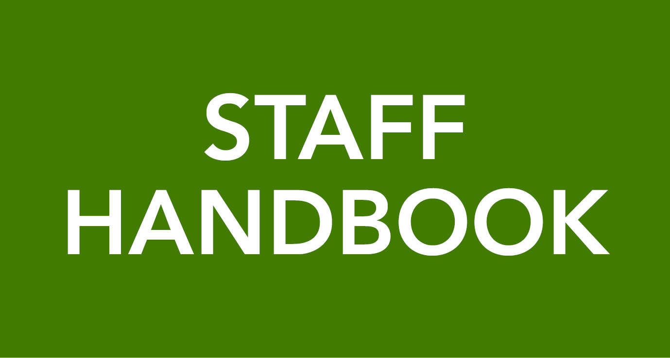 staff hand book Here are the policies, procedures, benefits, expectations of the employment relationship, professional behavioral expectations, and more that are often found in an employee handbook this sample table of contents also covers pay, performance expectations, and legal issues.